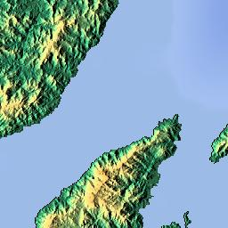 Mapa Ampliado De Urata Otros Islas Fiji