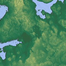 Elevation Map Of Sweden MAPLOGS - Sweden terrain map
