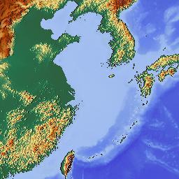 Elevation Map Of Japan MAPLOGS - Japan elevation map