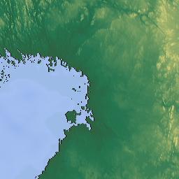 Elevation Map Of Jokkmokk NV Sweden MAPLOGS - Jokkmokk sweden map