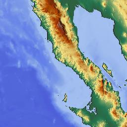 Elevation Map Of Baja California Mexico MAPLOGS - Elevation map of california