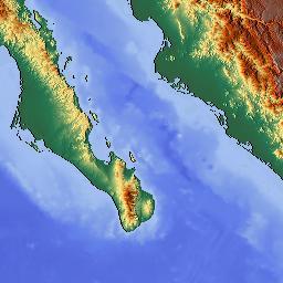 California map elevation